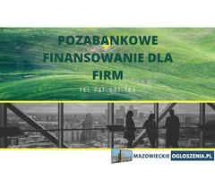 Skuteczne,szybkie pozabankowe finansowanie dla firm pod hipoteke