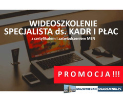 Kurs online Specjalista ds. kadr i płac z zaświadczeniem MEN