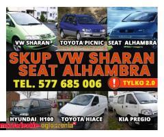 KUPIĘ PILNIE VW SHARAN SEAT ALHAMBRA 2.0 B i B/G I INNE